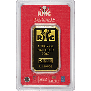 Republic Metals Corp Gold Bar