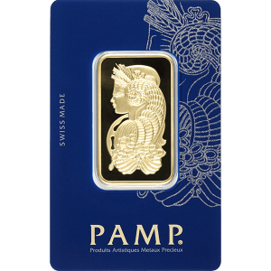 Gold Bar PAMP Fortuna