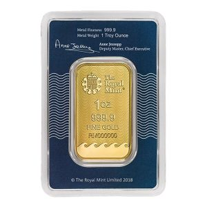 Royal Mint Gold bars