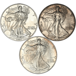 American Silver Eagle NGC and PCGS