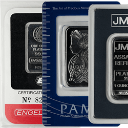 Platinum Bars 1 oz