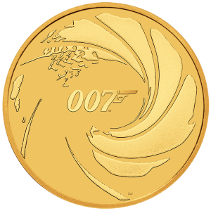2020 1 oz Tuvalu James Bond Series 007 Gold Coins