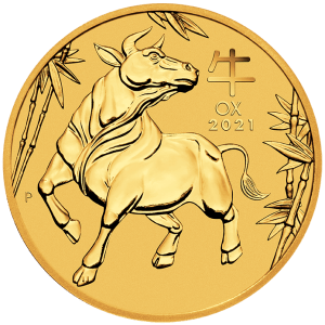 2021 Australian Year of the Ox Coins